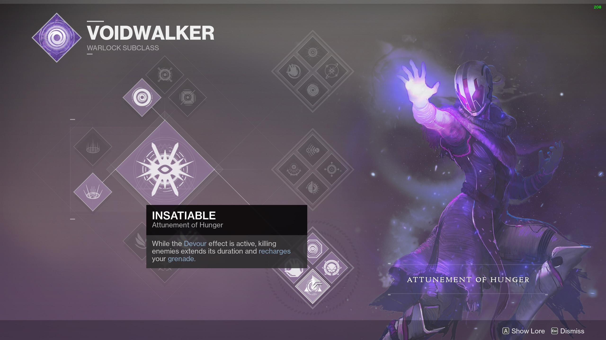 Destiny 2 Voidwalker