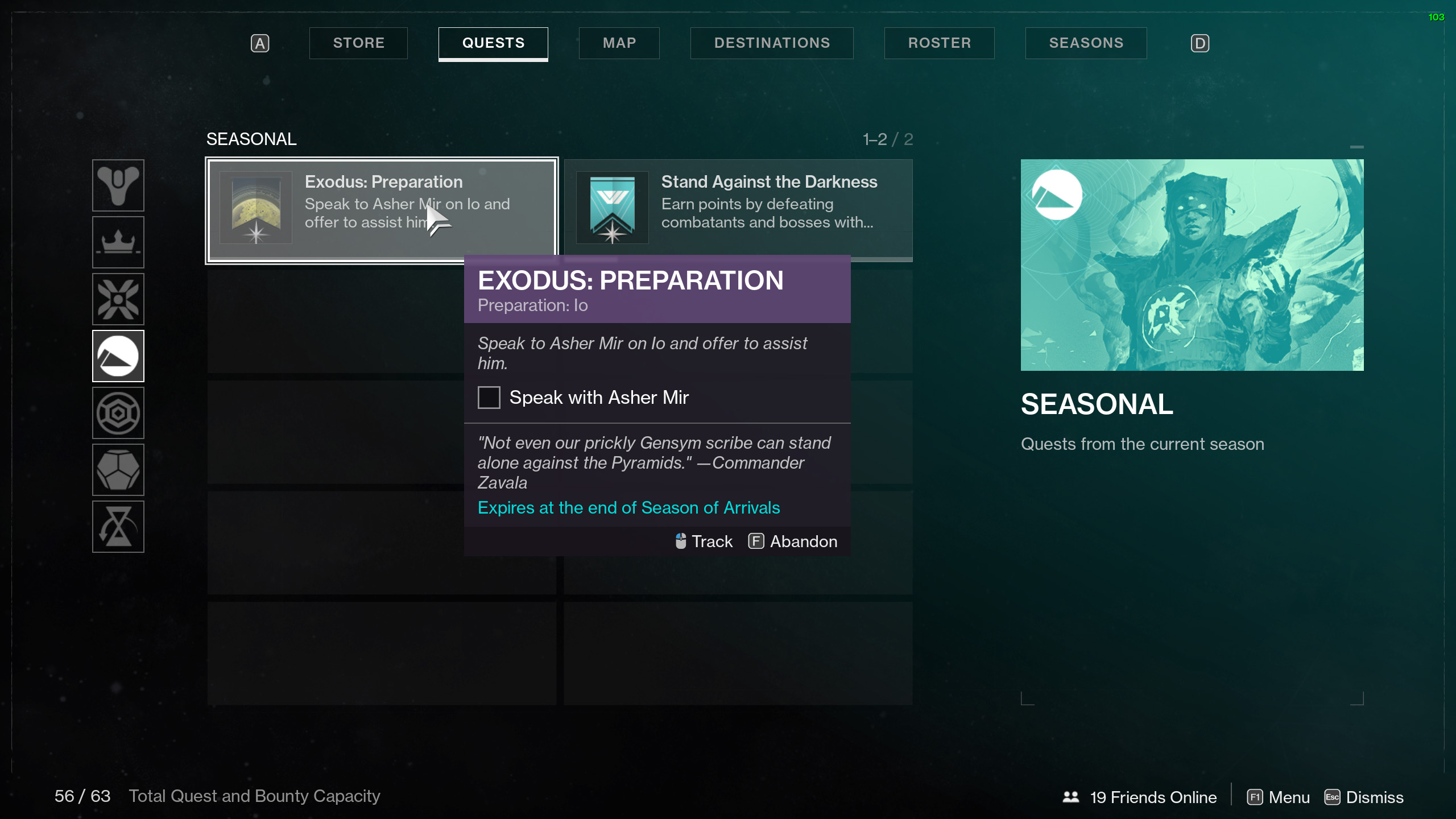 Exodus Preparation Io Destiny 2