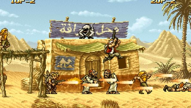 Metal Slug 2 is some of the most fun you can have when it comes to shooters.