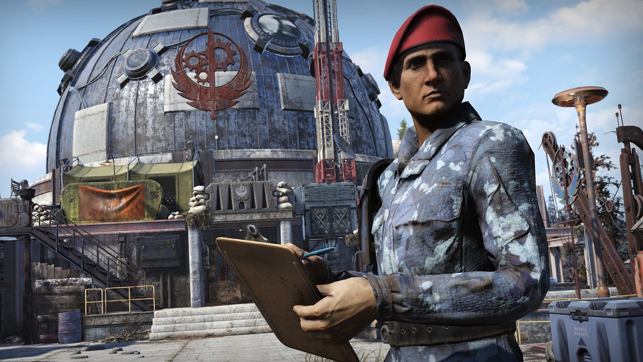 By heading to the ATLAS Observatory in the Savage Divide, you can contribute to the Fortifying ALPHA projects and score rewards for all Fallout 76 players.