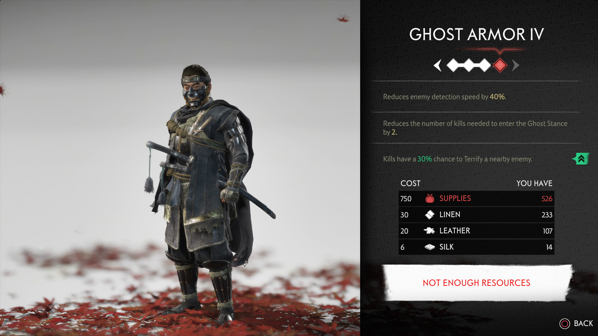 how to get Ghost Armor - Ghost of Tsushima