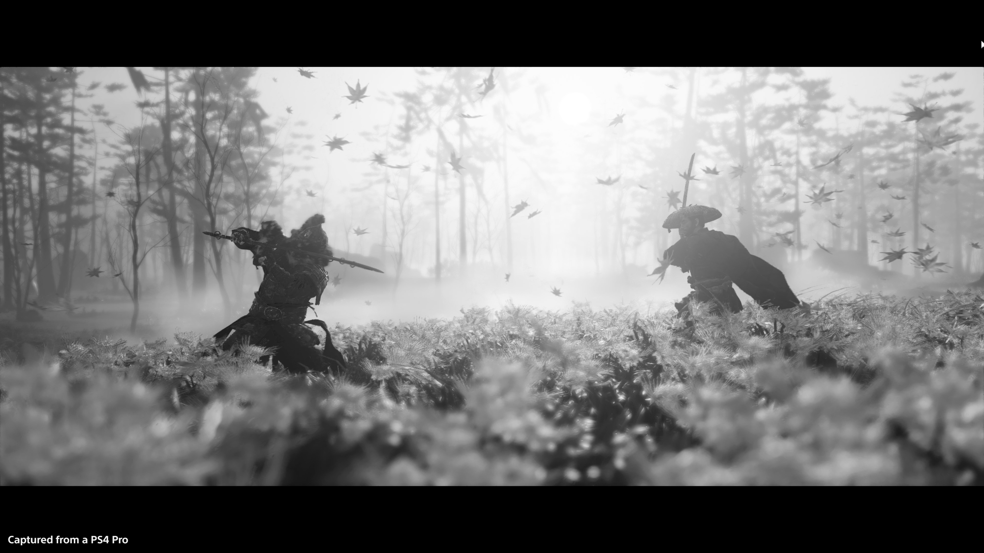 Samurai duels make up some of the more intense moments in Ghost of Tsushima.