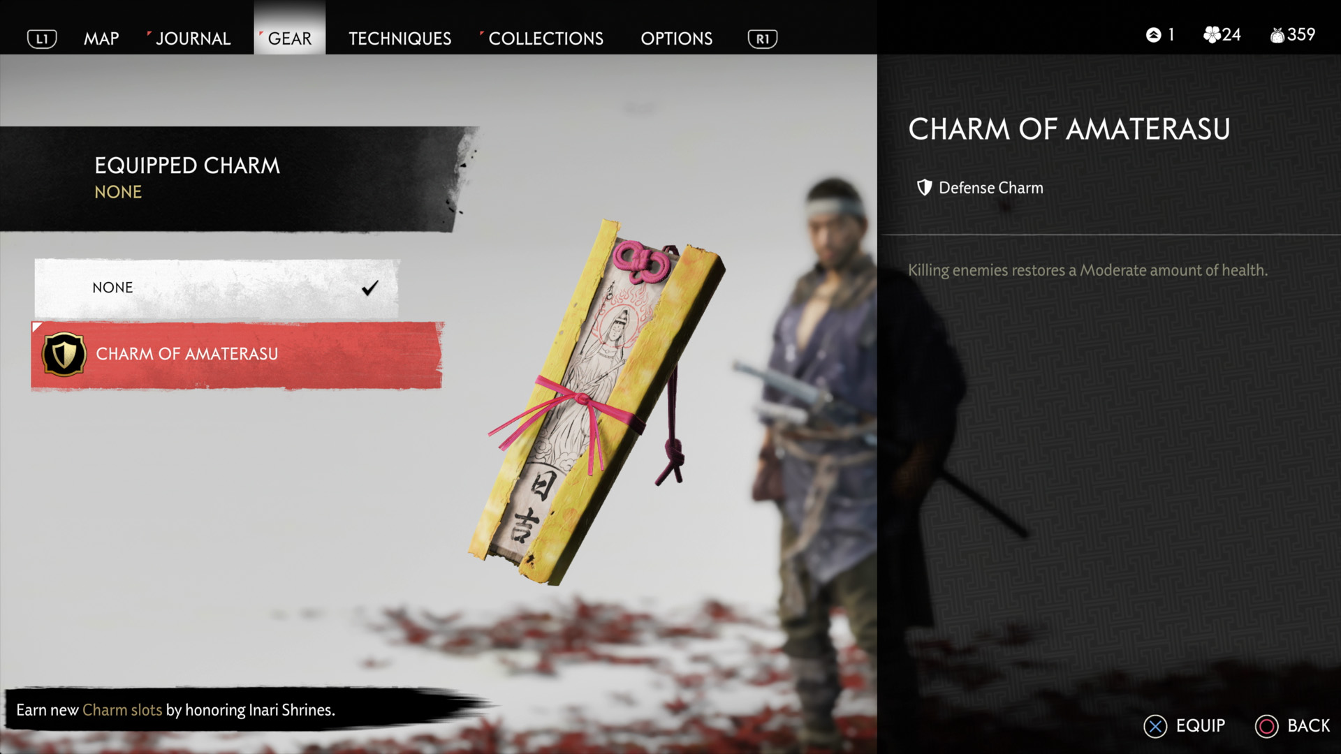 How to get new charms - ghost of tsushima
