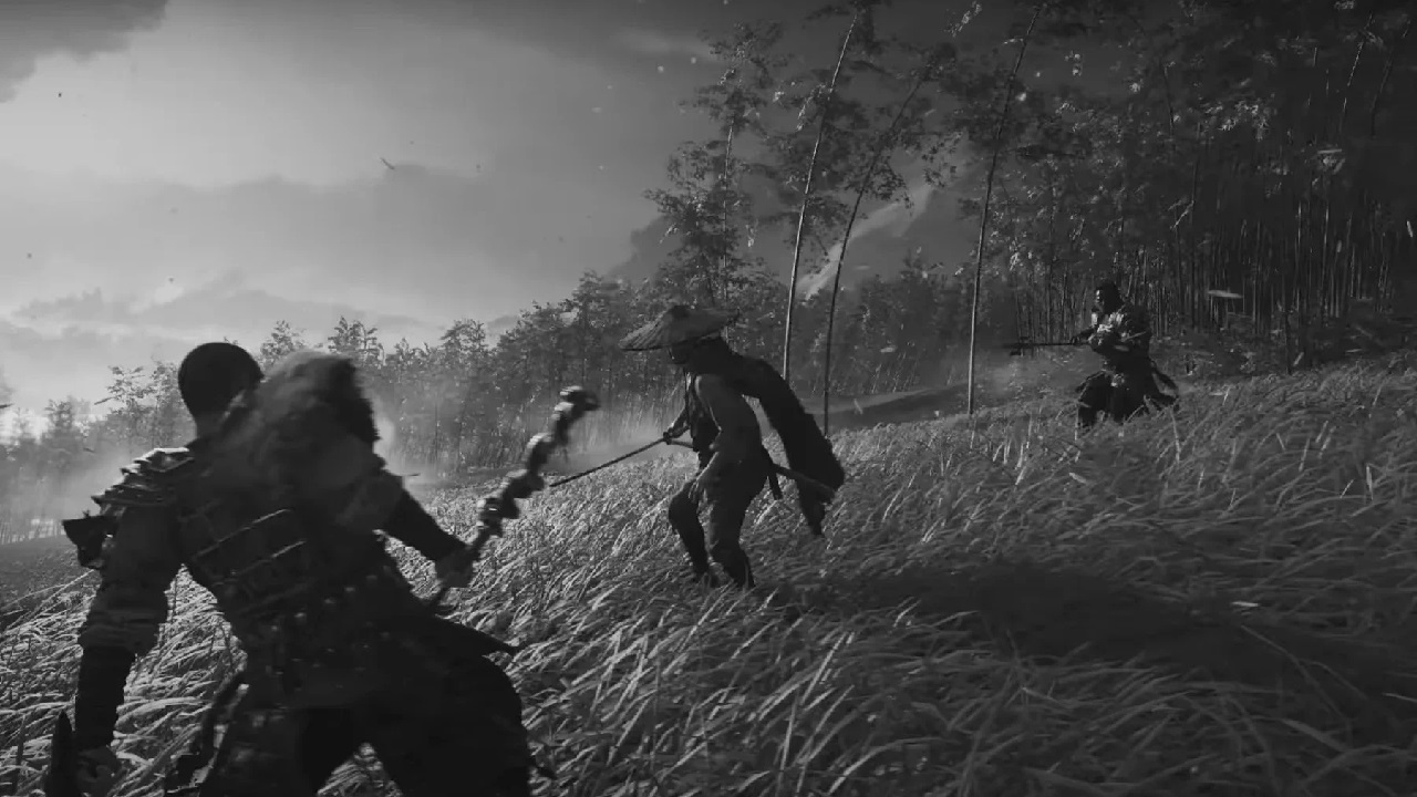 Ghost of Tsushima's Kurosawa Mode features a change in visuals, sound, and wind effects in the game to better capture every element of Kurosawa's golden era of movie direciton.