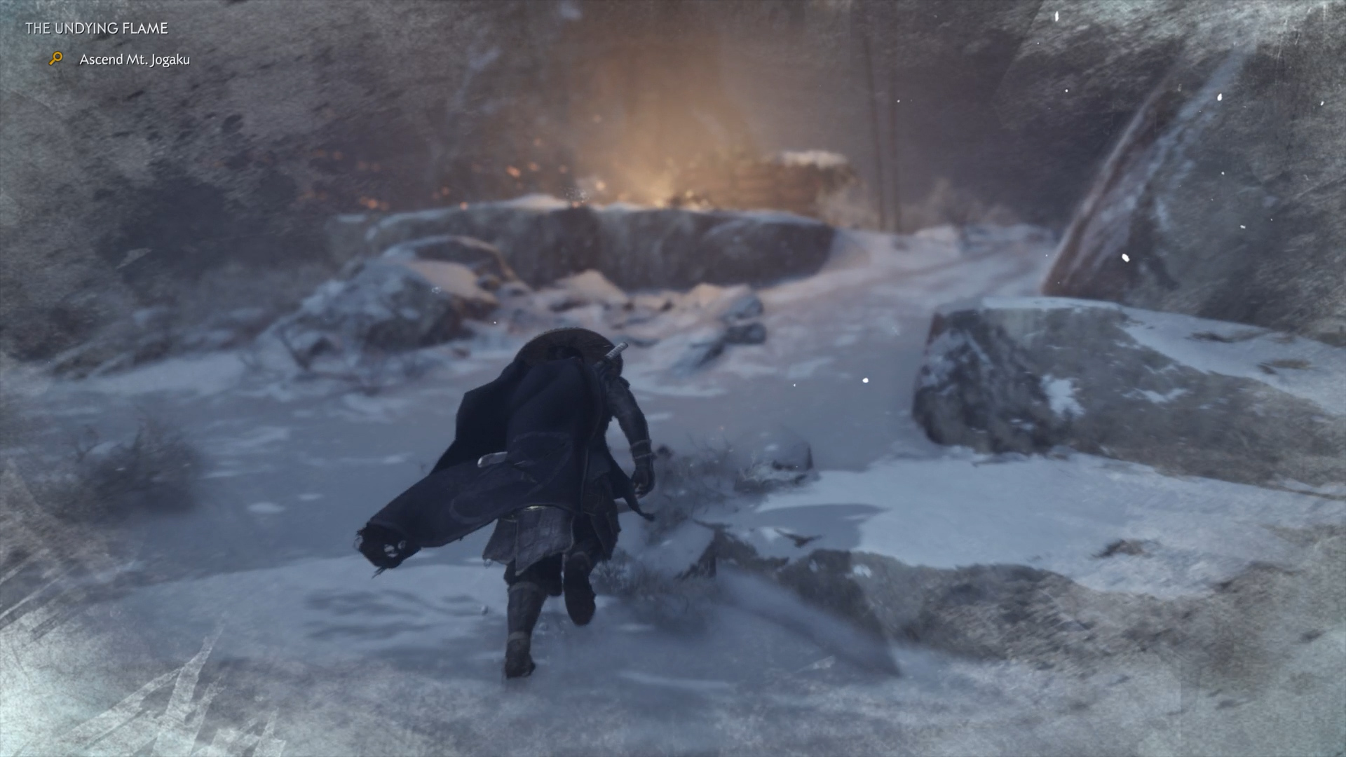 how to stay warm in Way of the Flame - Ghost of Tsushima