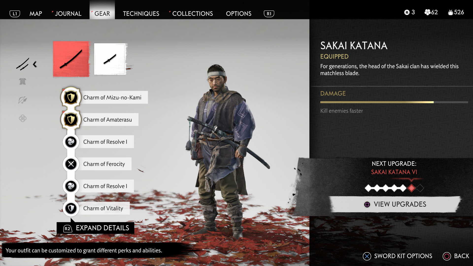 Ghost of Tsushima PS4 Dynamic Theme is Free This Week