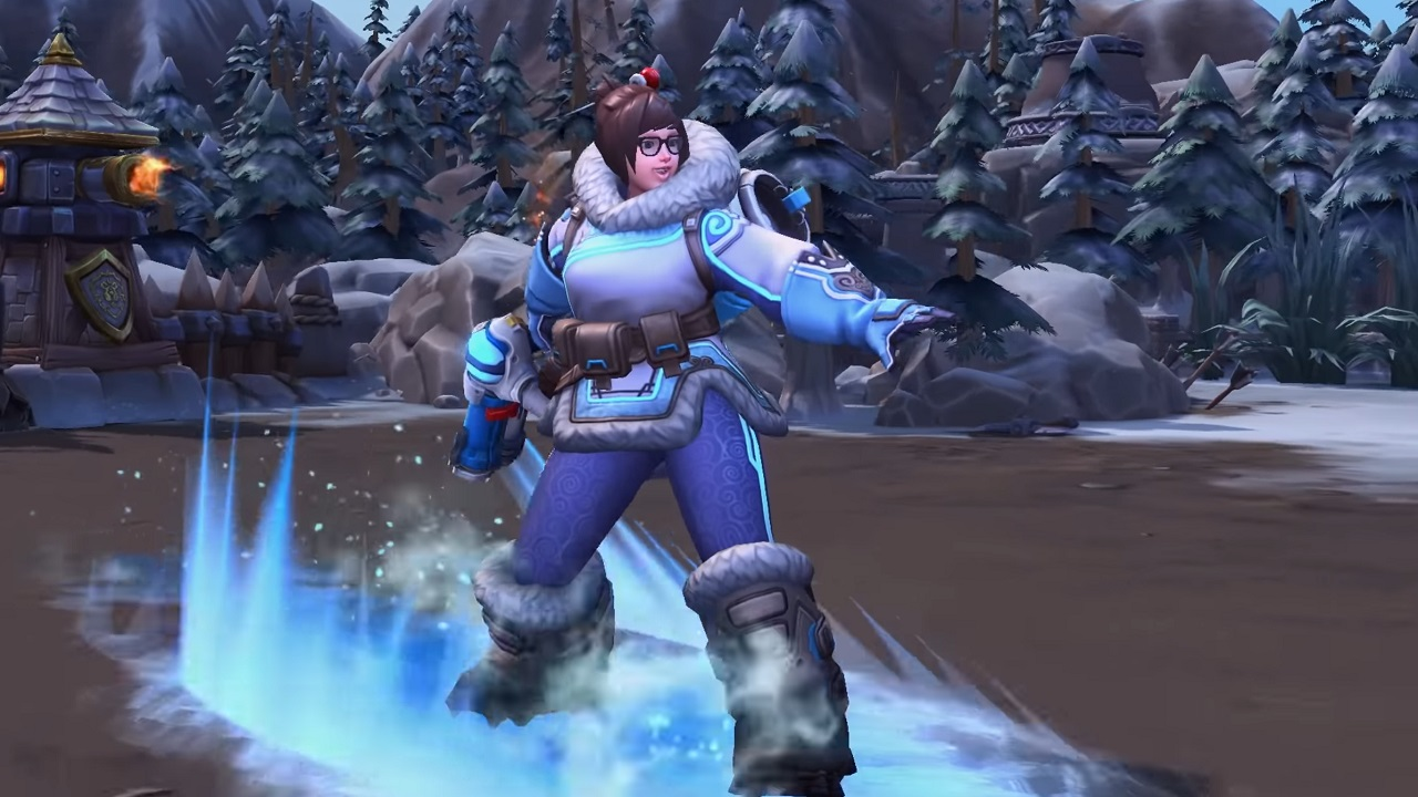 Mei is an interesting pick as a Heroes of the Storm tank over Reinhardt, but she's also arguably quite good with her crowd control and backline-diving abilities.