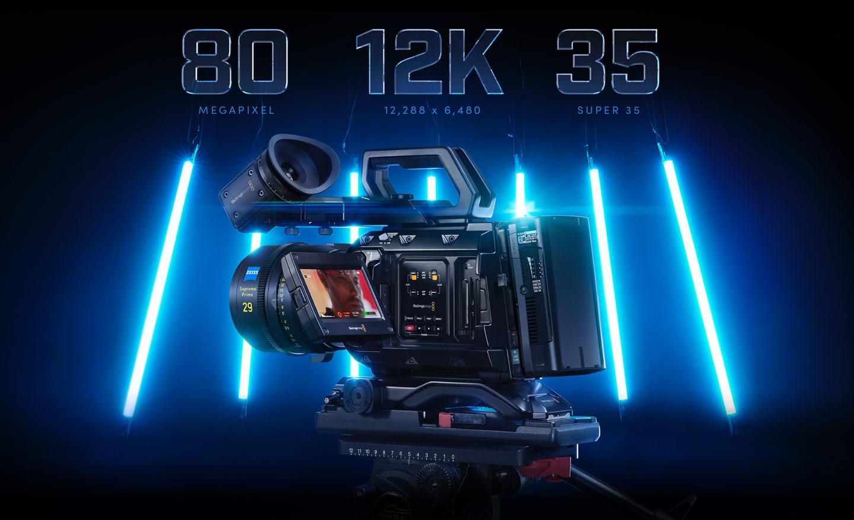 Blackmagic Design URSA Mini Pro 12K (PL) is a mega camera.