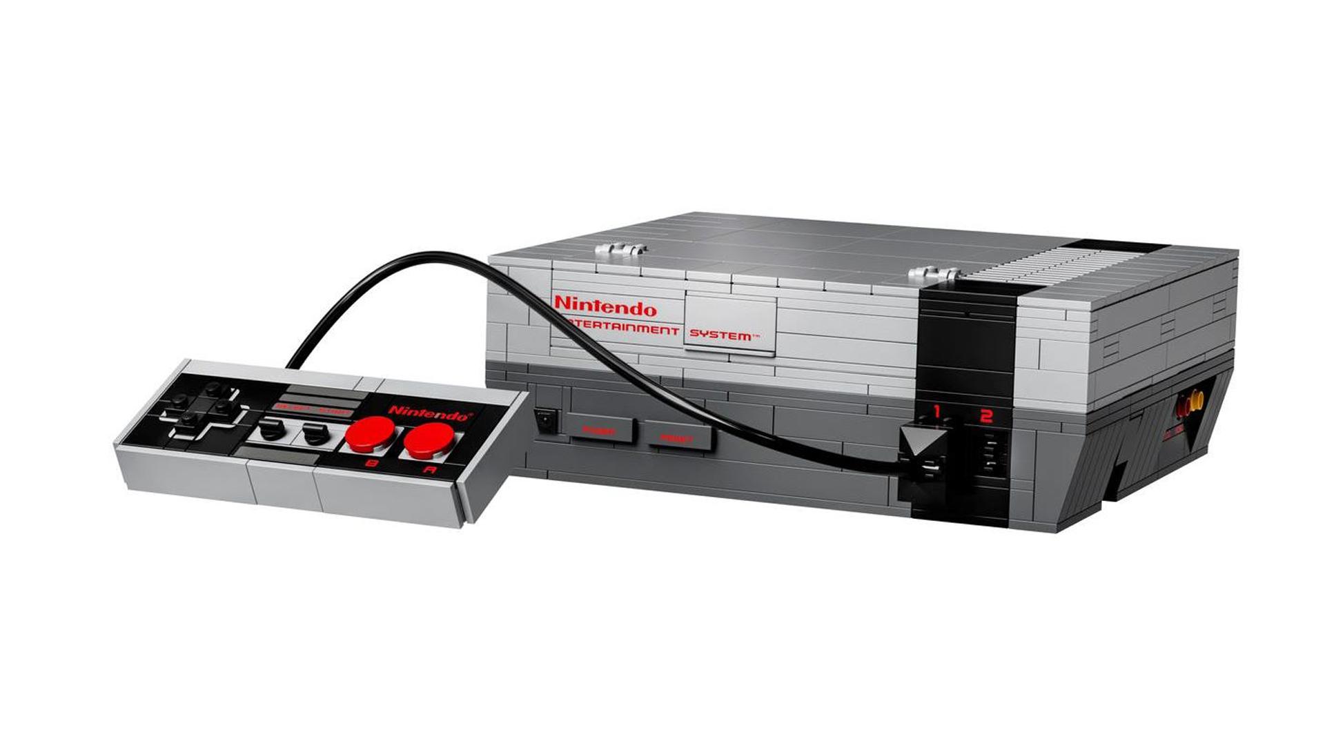 pre-order LEGO NES