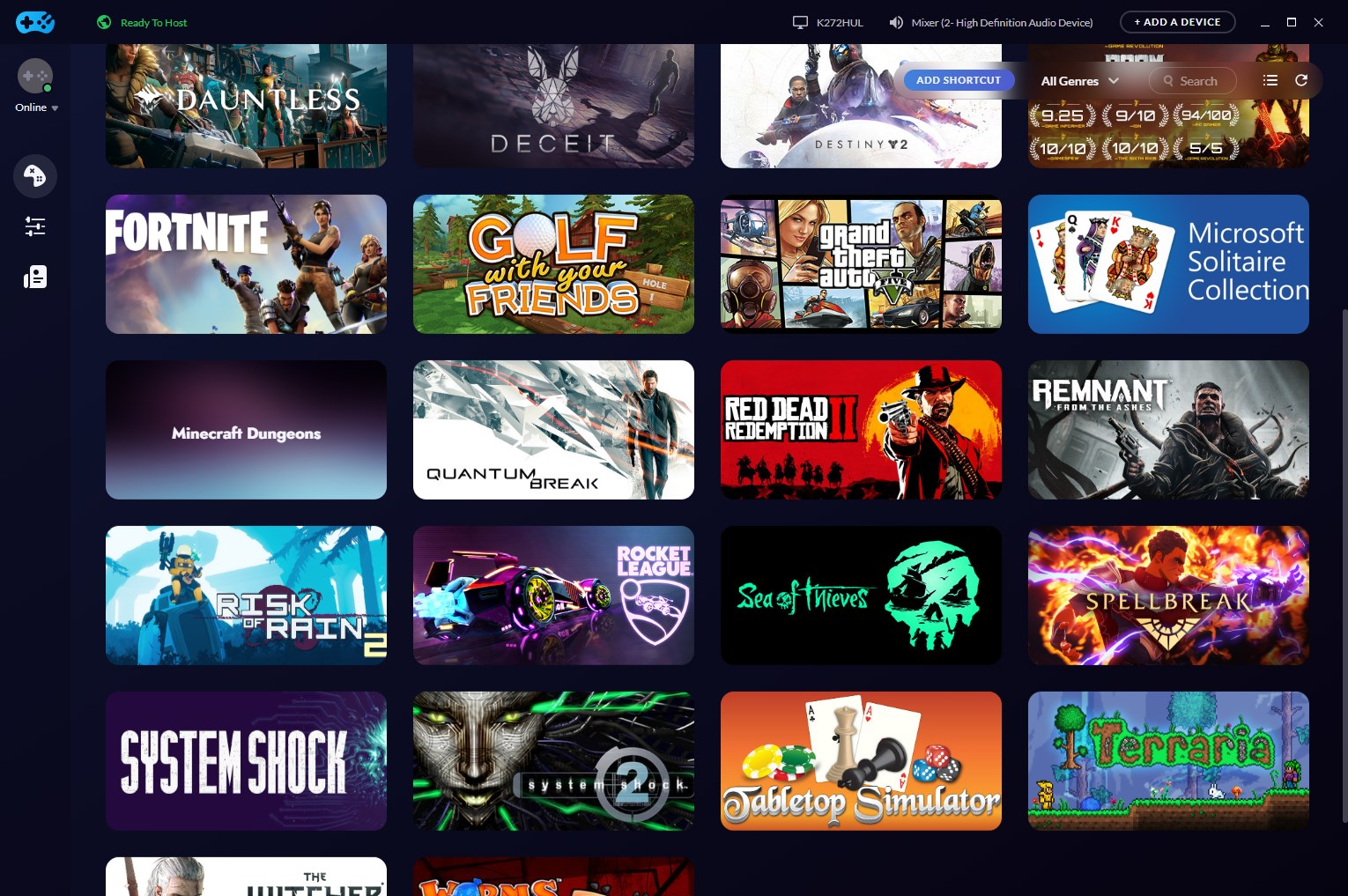 Rainway TV app impressions: Couch-friendly PC gaming | Shacknews