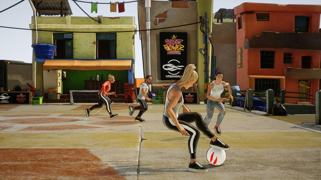 Street Power Soccer Power Mode