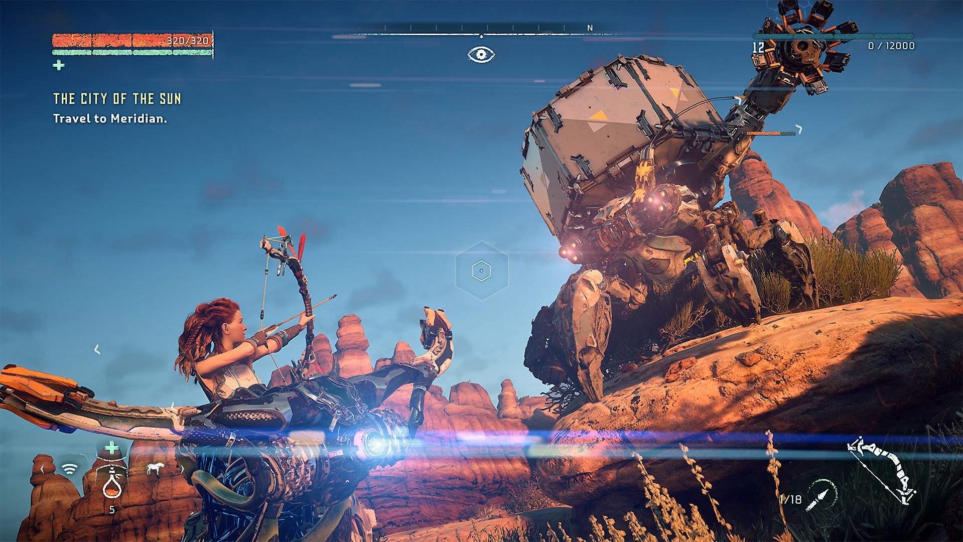 upgrade override ability horizon zero dawn