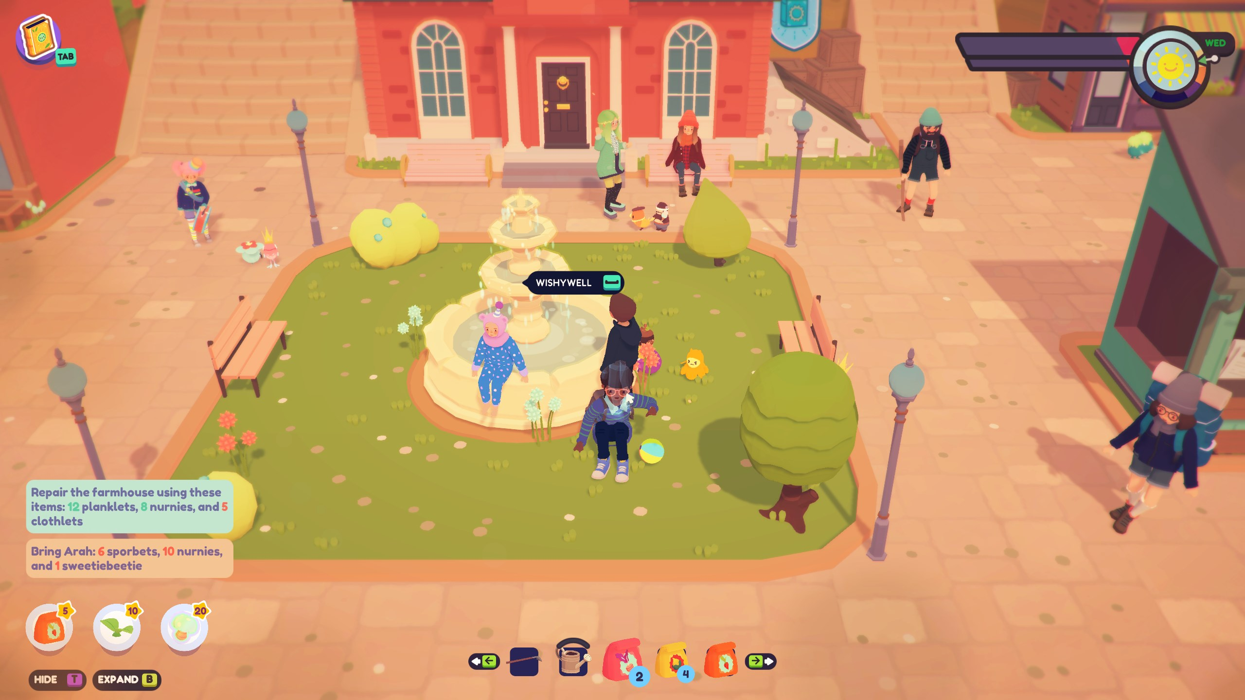But Oobsidian with Wishies - Ooblets