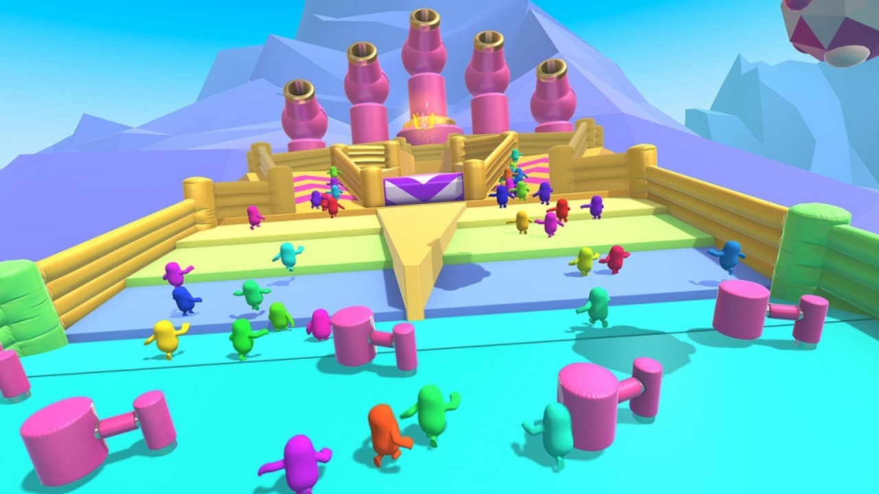 Fall Guys has a lot of colorful modes and levels, but its bite-sized play and cycling means you'll see what's available a lot and fast without a level editor or constant updates.