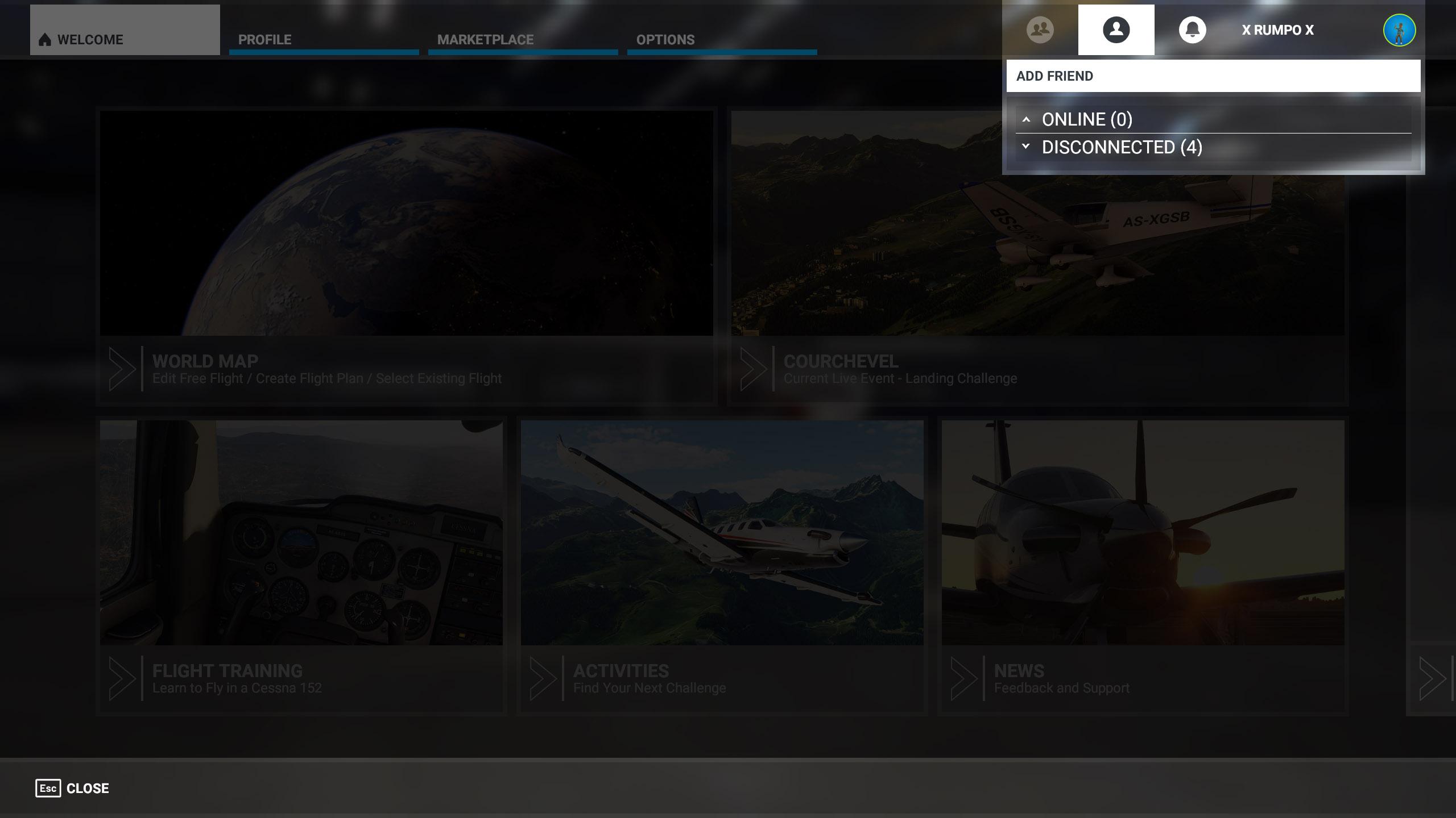Multiplayer Microsoft Flight Simulator 2020