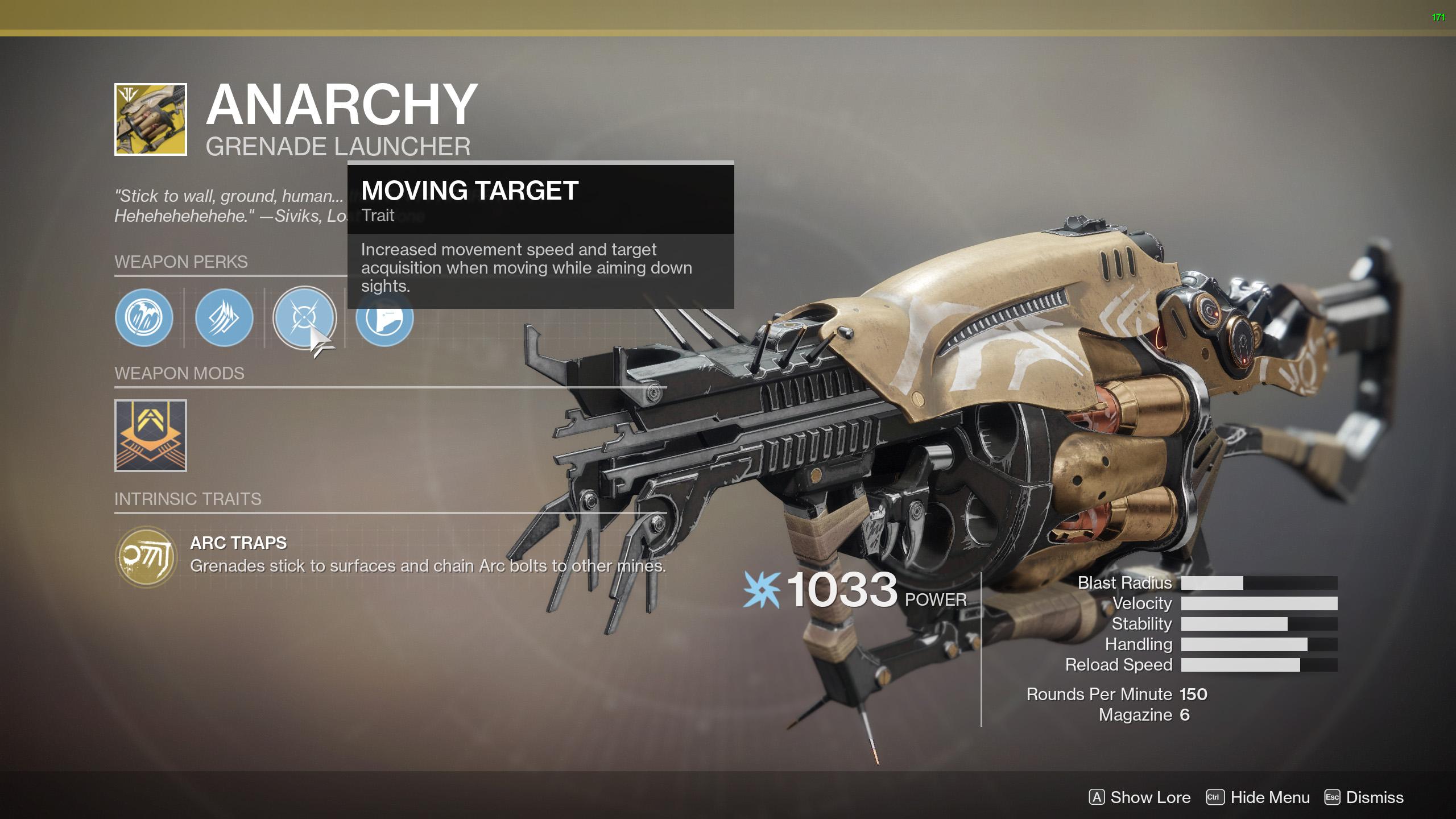 Anarchy Destiny 2