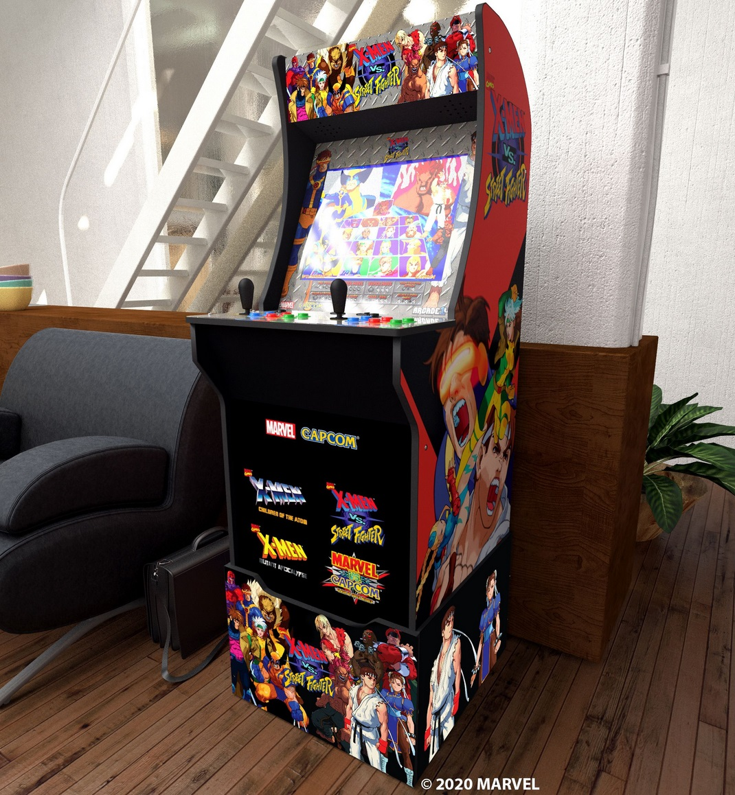 The MS. PAC-MAN and Vs Capcom arcade cabinets have been long-awaited and anticipated additions to the Arcade1Up lineup.