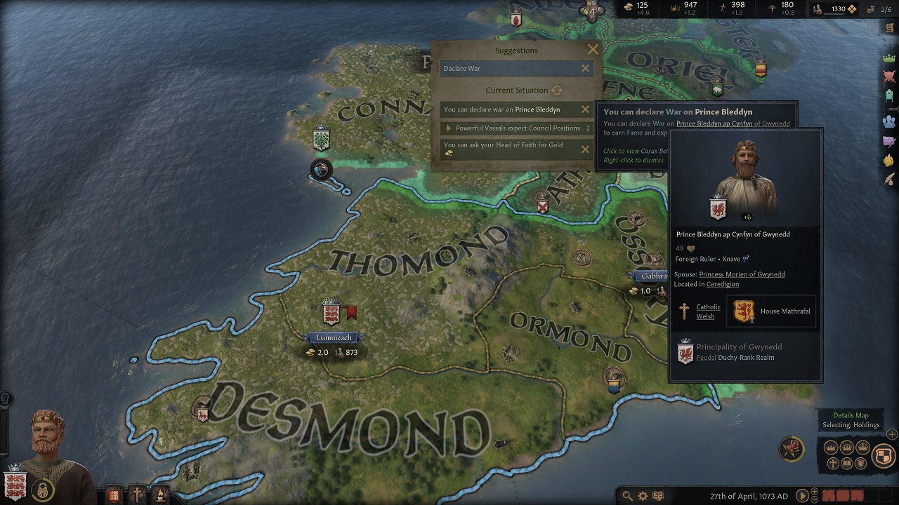 Issues and tooltips systems in Crusader Kings 3 pretty much ensure that you'll never be completely stumped about what's going on or where to go next.