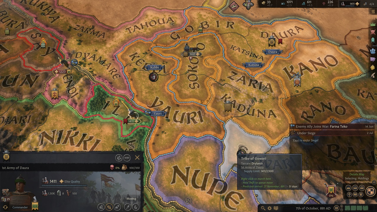 As much freedom as Crusader Kings 3 gives you, there are a lot of ways to make mistakes and the game does little to warn you of when you're walking into blatant peril.