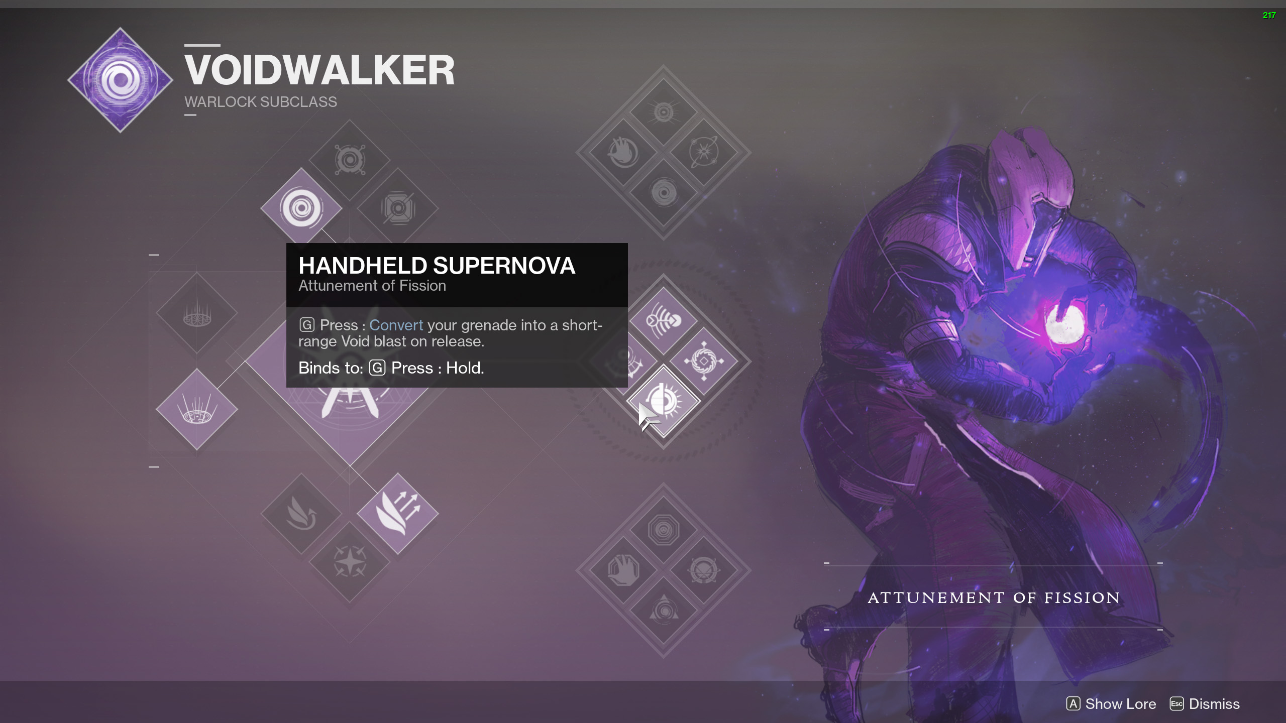 Destiny 2 Handheld Supernova Contraverse Hold