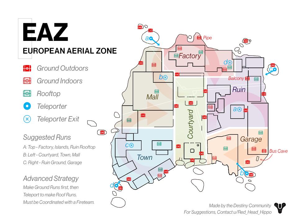 EAZ map Destiny 2