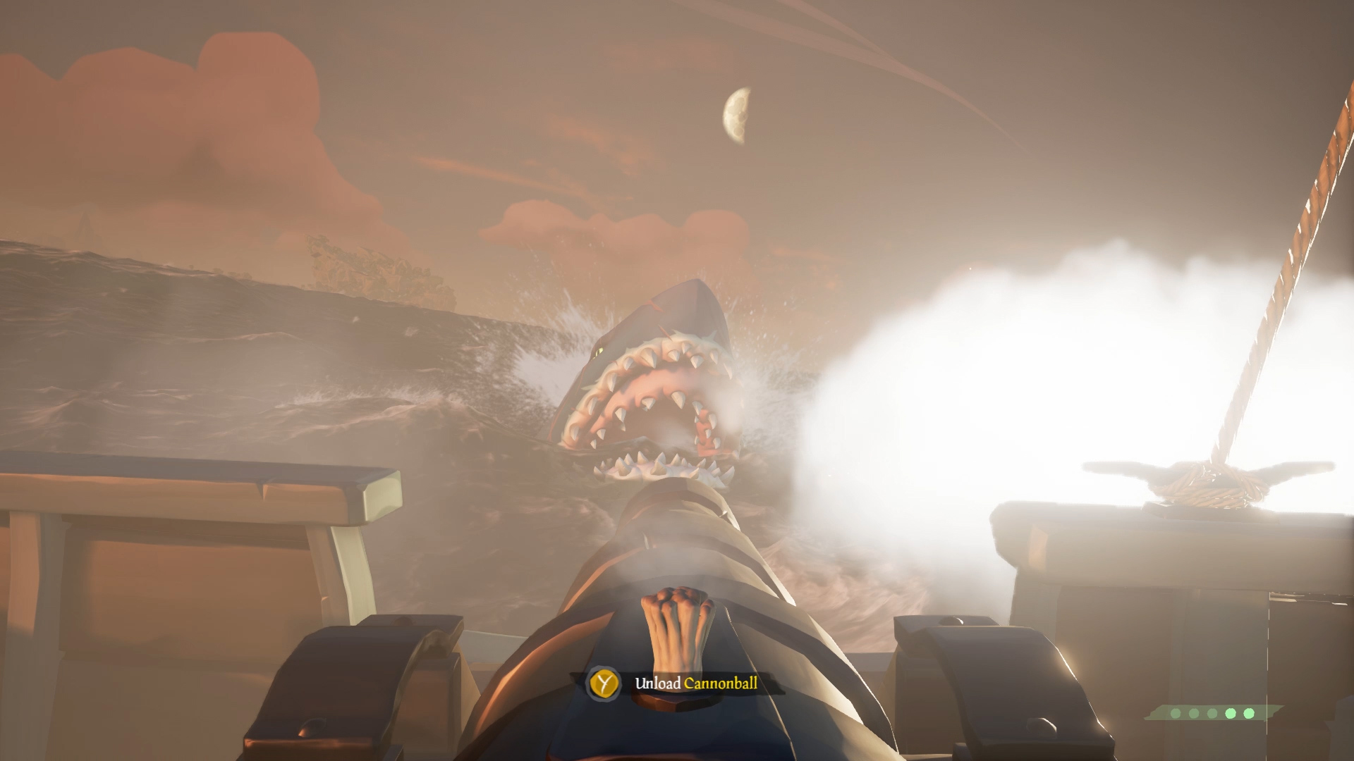find megalodon hunters of the deep sea of thieves