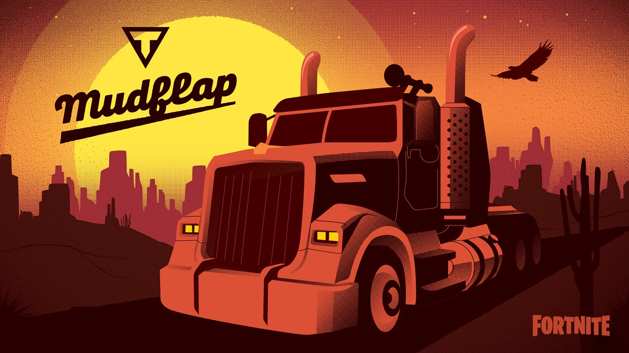 Where Whiplash shows off speed in the form of a sleek sports car, Mudflap is the power end of the spectrum as a big semi-truck in Fortnite Joy Ride.