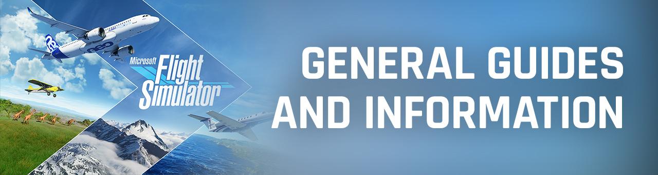 General Information Microsoft Flight Simulator 2020