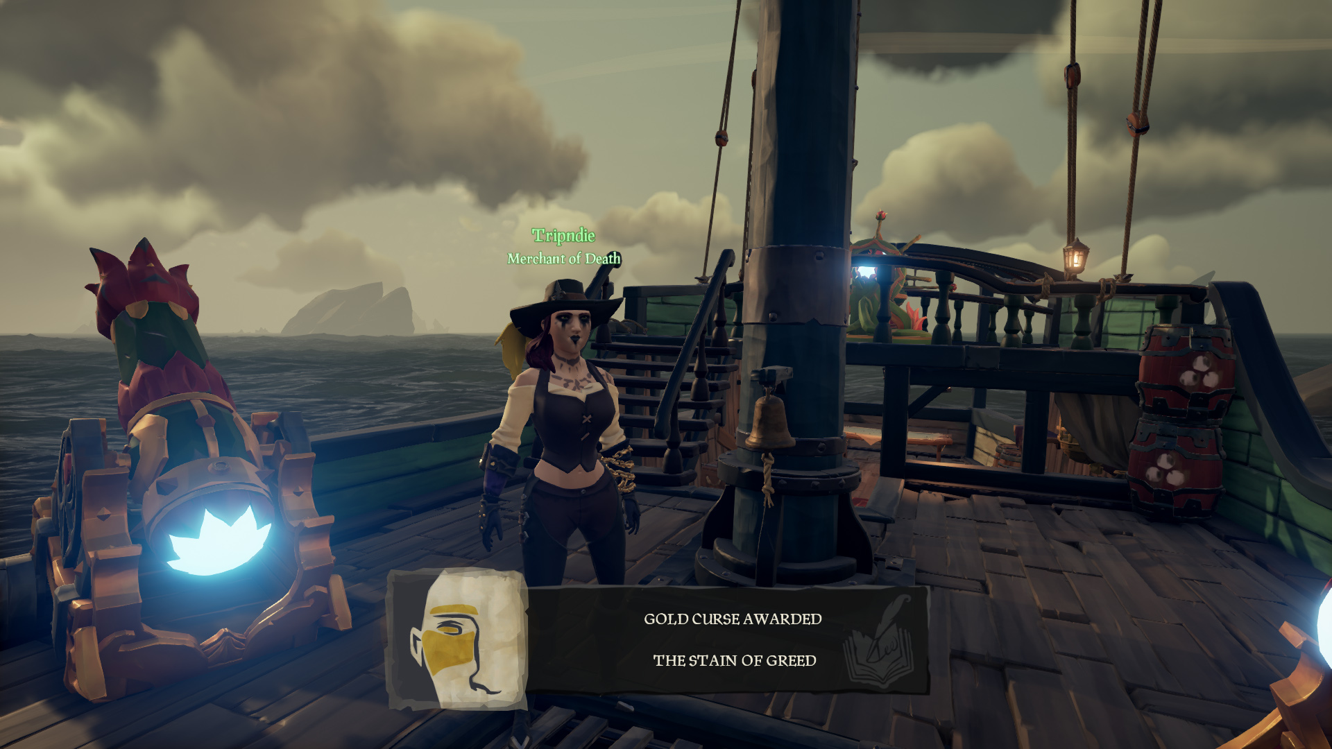 unlock curses sea of thieves