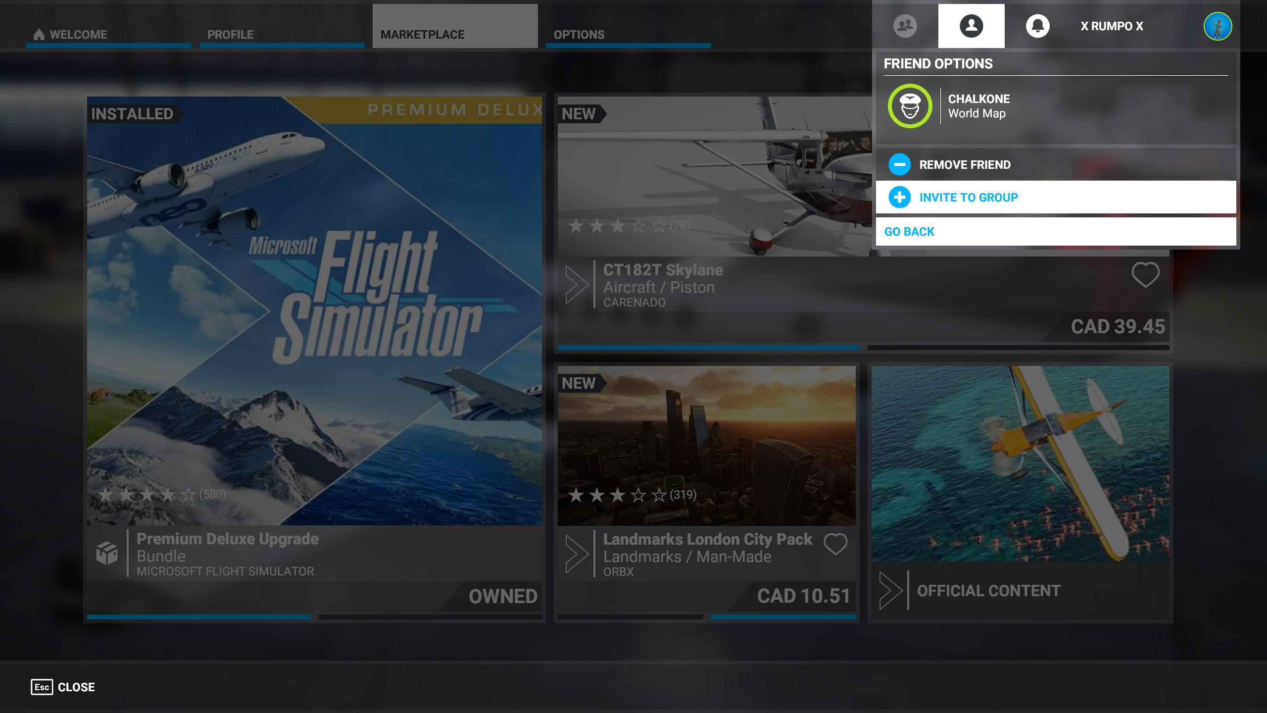 Play Friends Microsoft Flight Simulator 2020