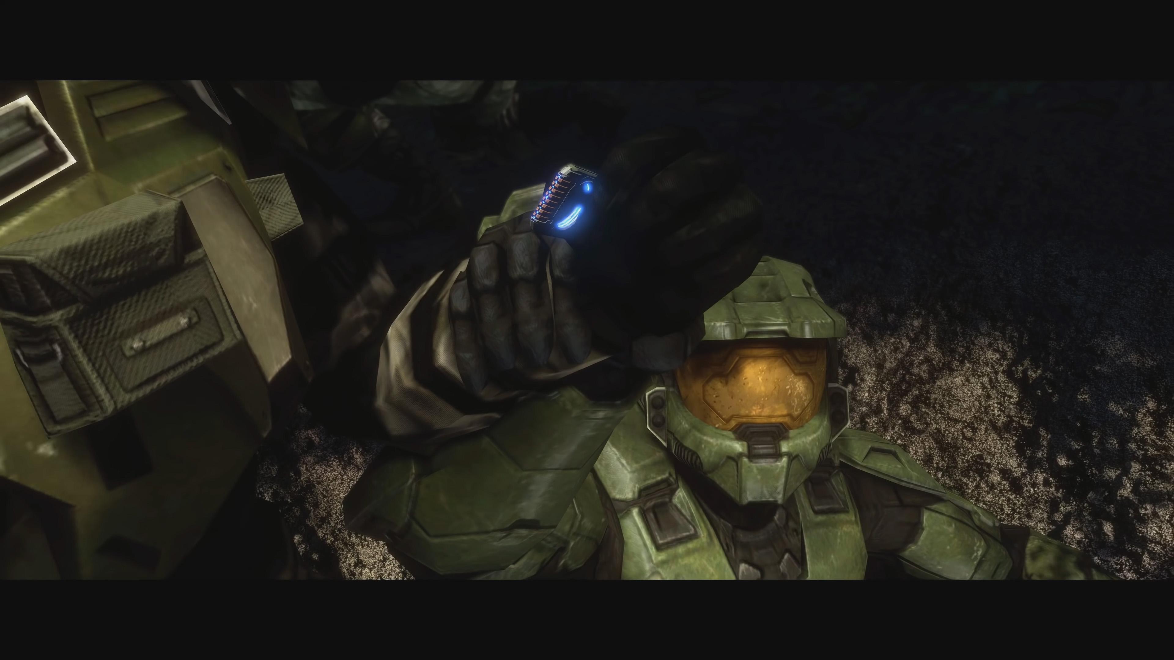 Halo 3 sierra 117 cutscene
