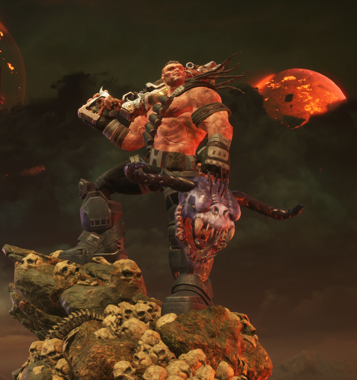 Hellgore is the smart-mouthed protagonist in Hellbound.