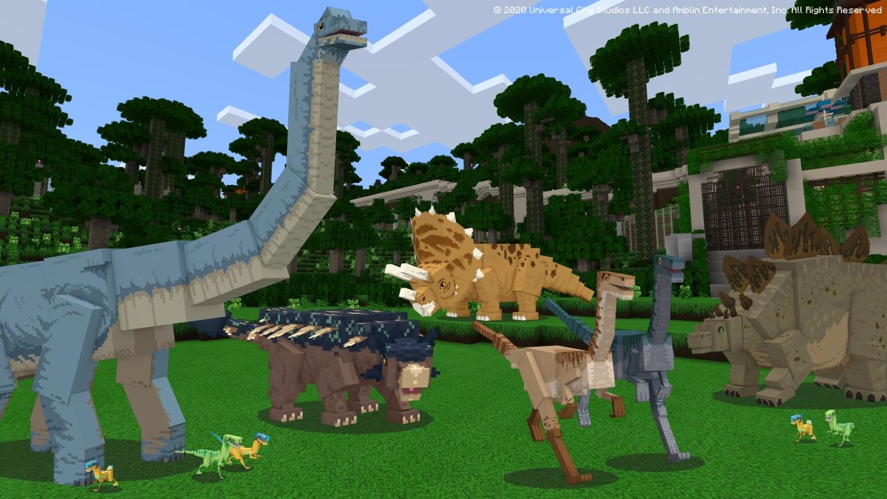 Jurassic World DLC Released in Minecraft
