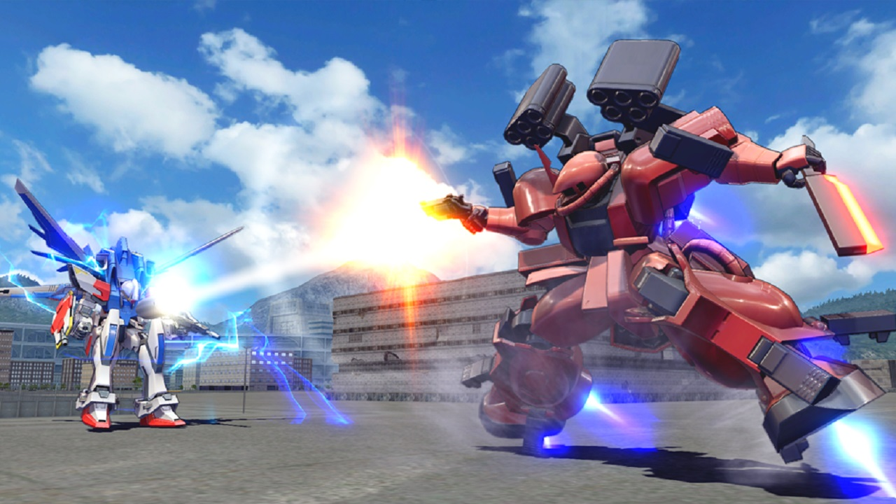 Perhaps just as impressive as Mobile Suit Gundam: Extreme Vs Maxi Boost ON's roster is that its gameplay has a quality feel to it.