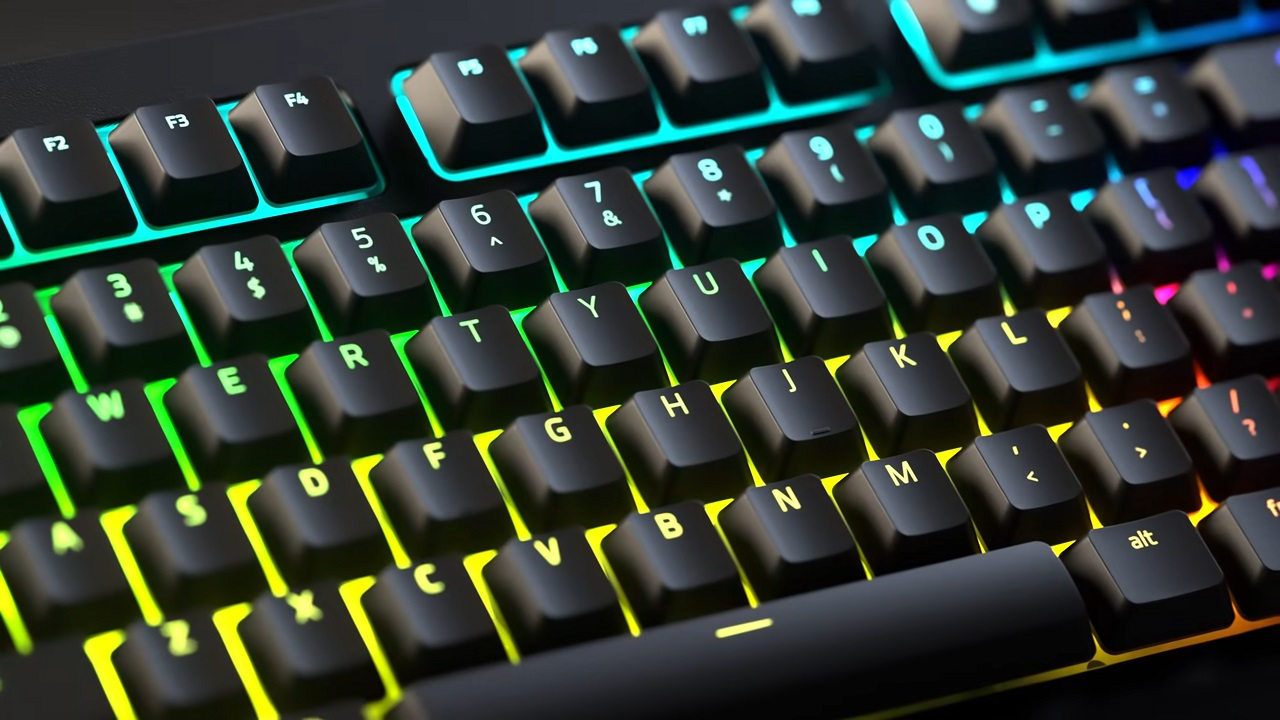 With customizable per-key RGB lighting and Chroma Workshop game integration, the possibilities with the V2's RGB are quite extensive.