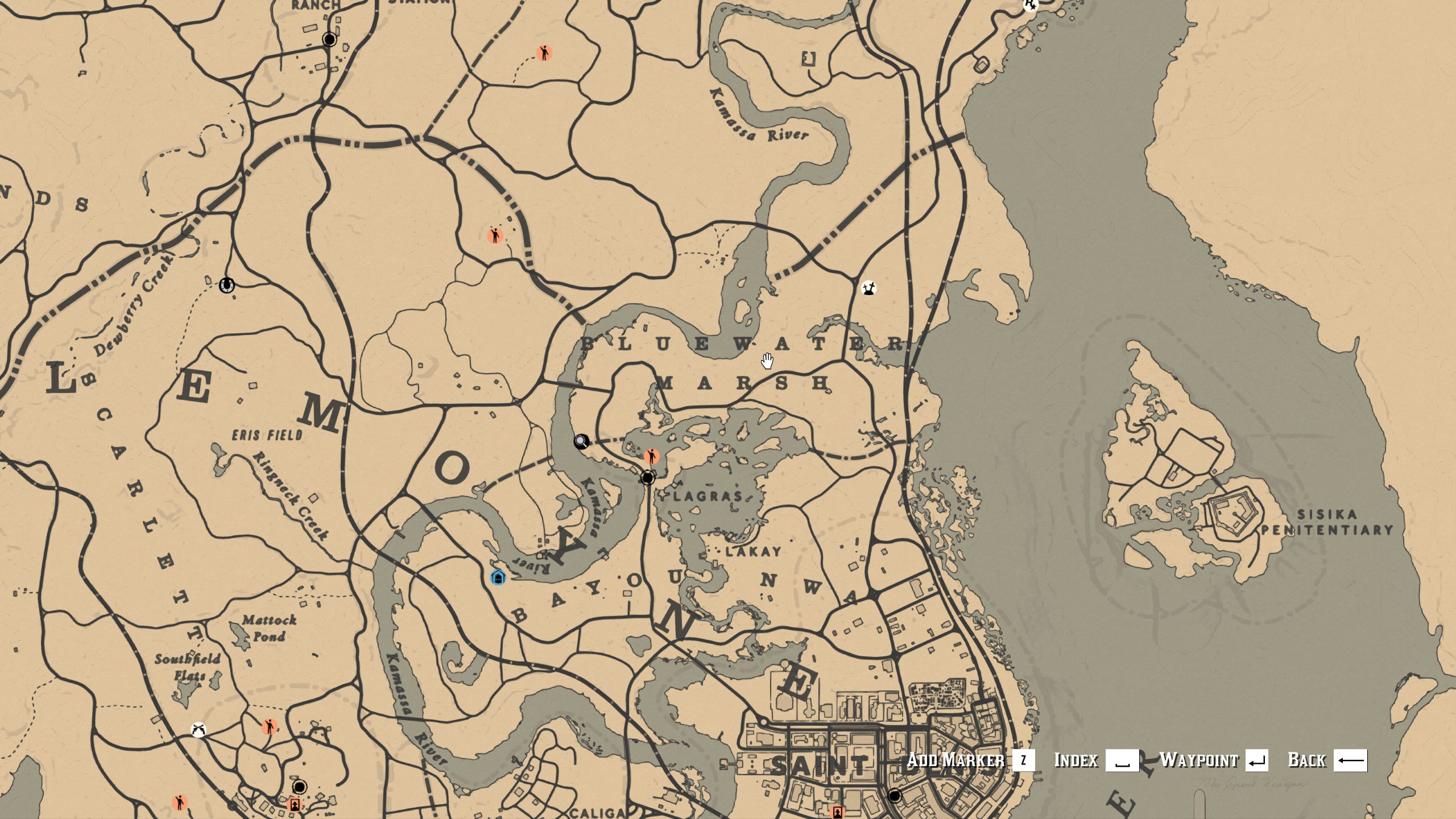 Legendary Animal Locations - Red Dead Online - Cogi Boar