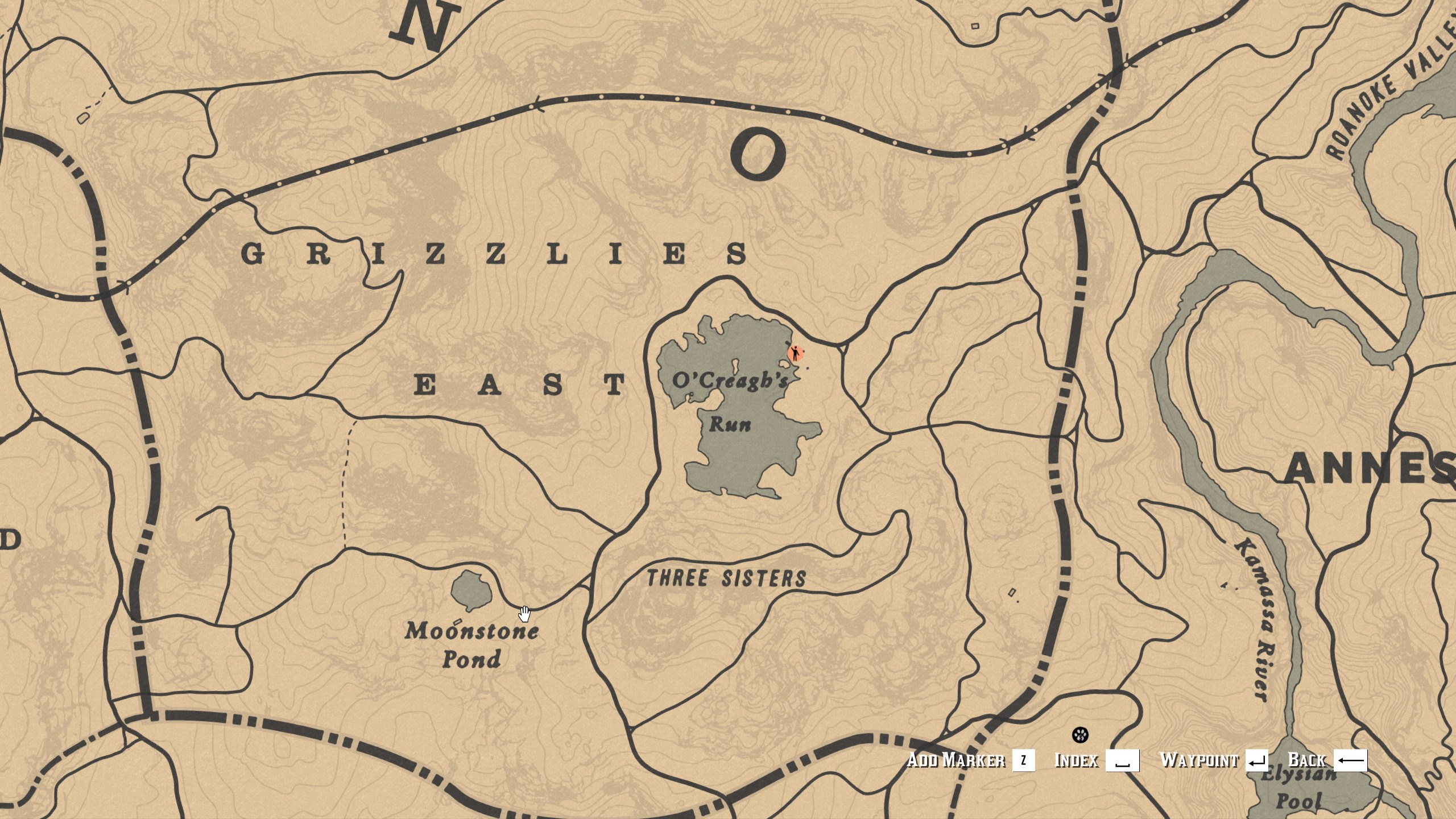 Legendary Animal Locations - Red Dead Online - Emerald Wolf