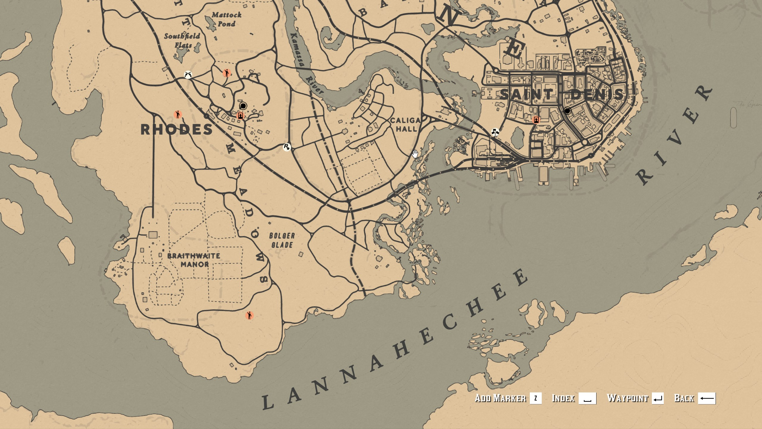 Legendary Animal Locations - Red Dead Online - Teca Gator