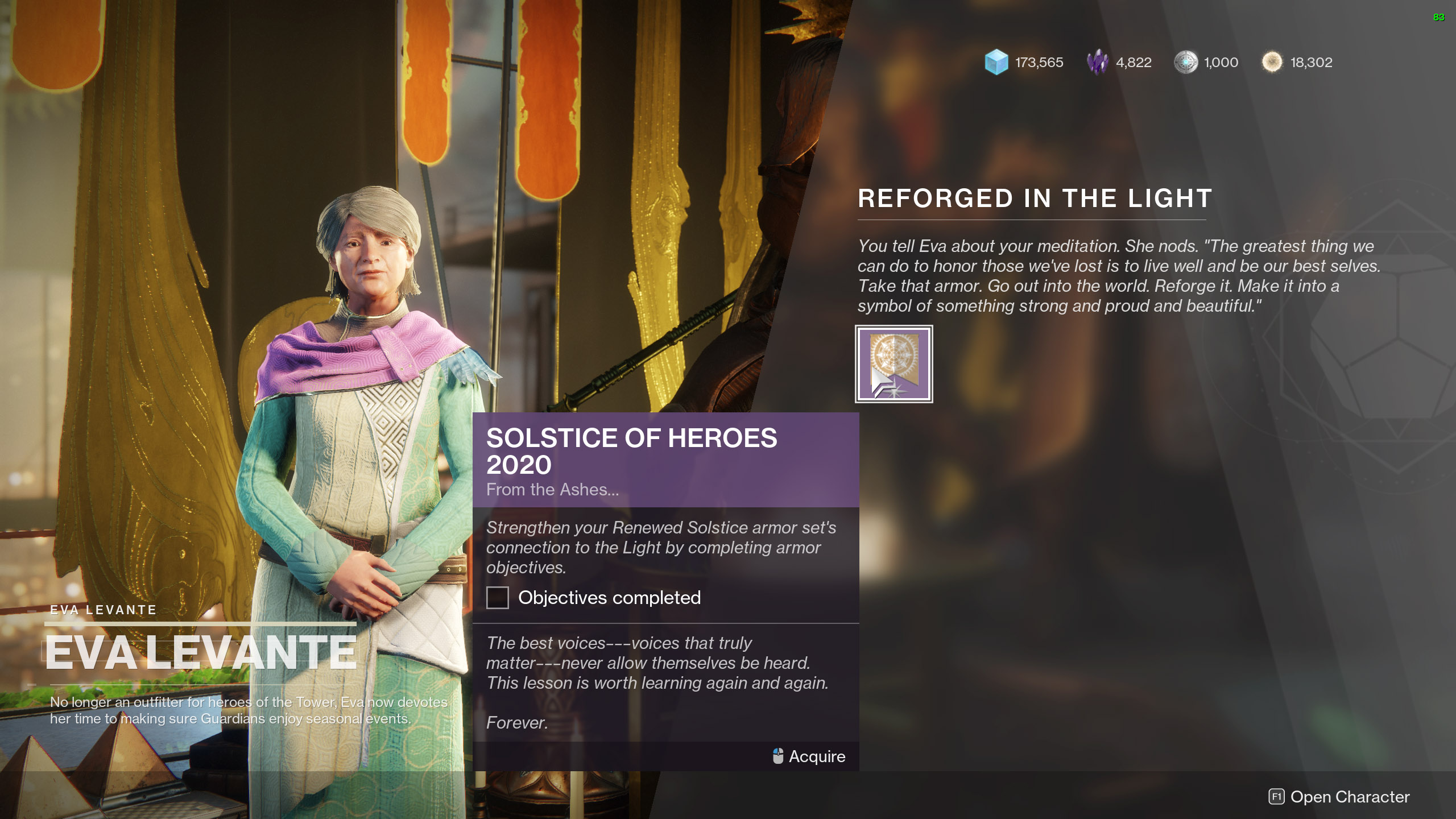 Reforged in the Light Destiny 2