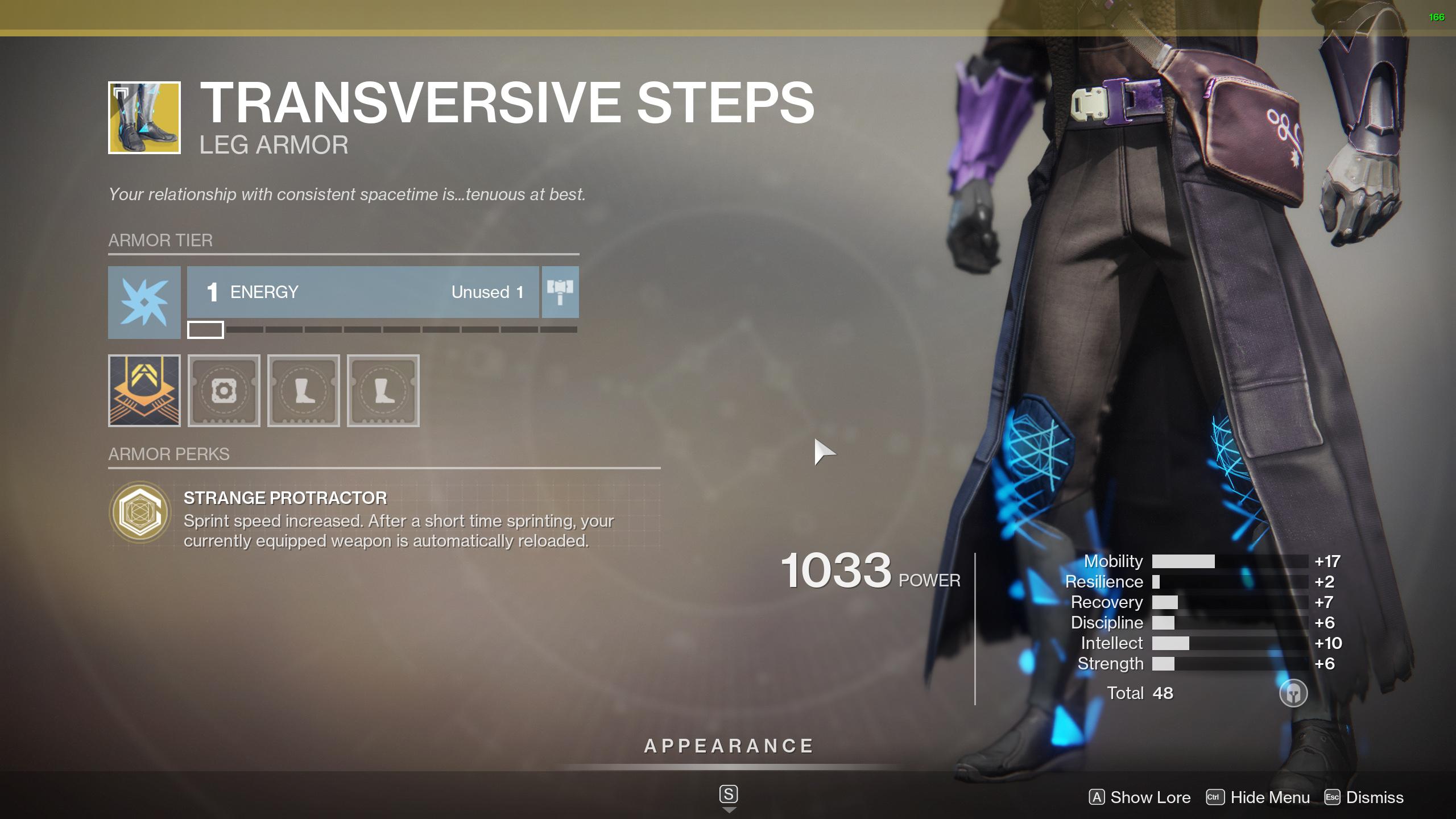 transversive steps destiny 2