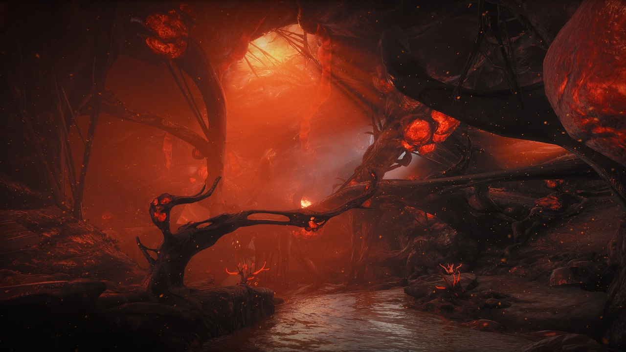 The Red Deep will be just one of many new Infested locations you can explore in Warframe's Heart of Deimos update.