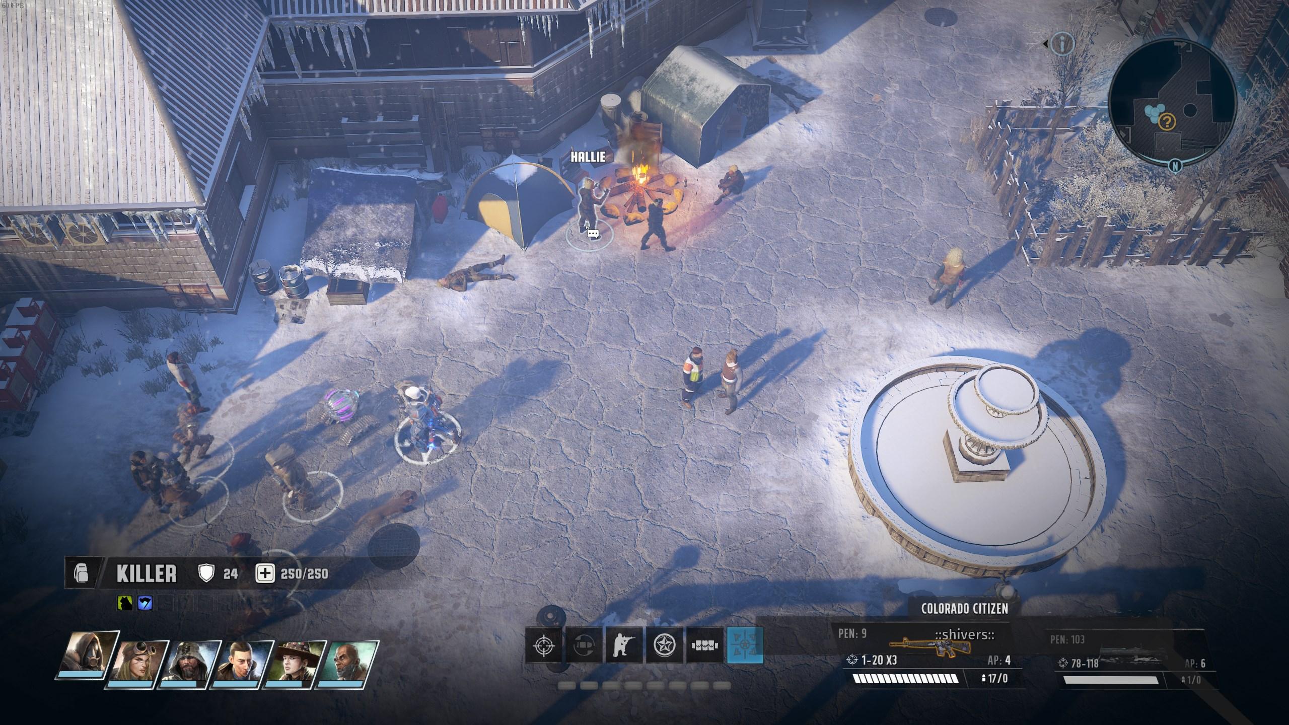 Ranger HQ vault code - Hallie location - Wasteland 3