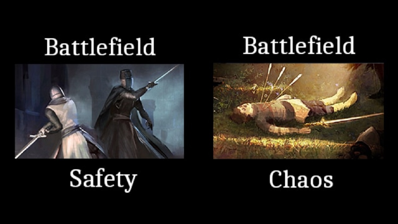 Battlefield Safety / Battlefield Chaos by Dragatus