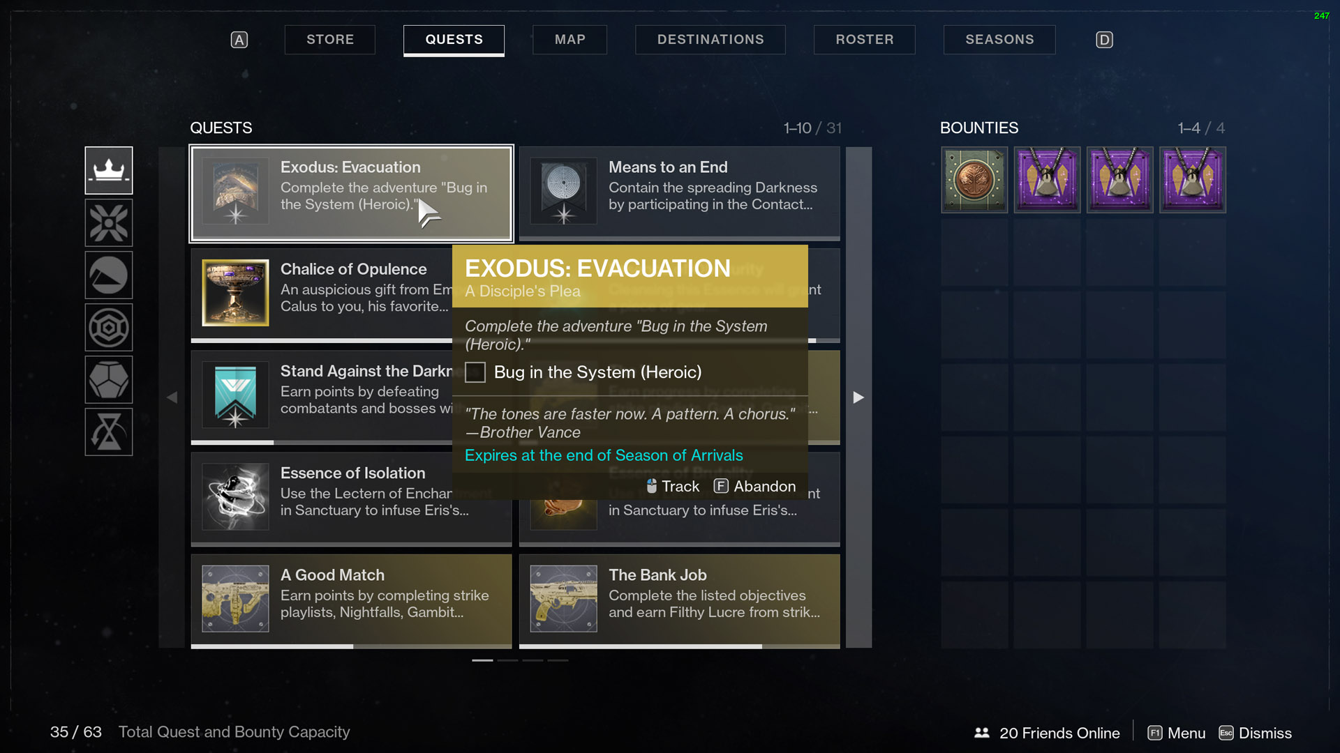 Destiny 2 Exodus Evacuation A Disciple's Plea