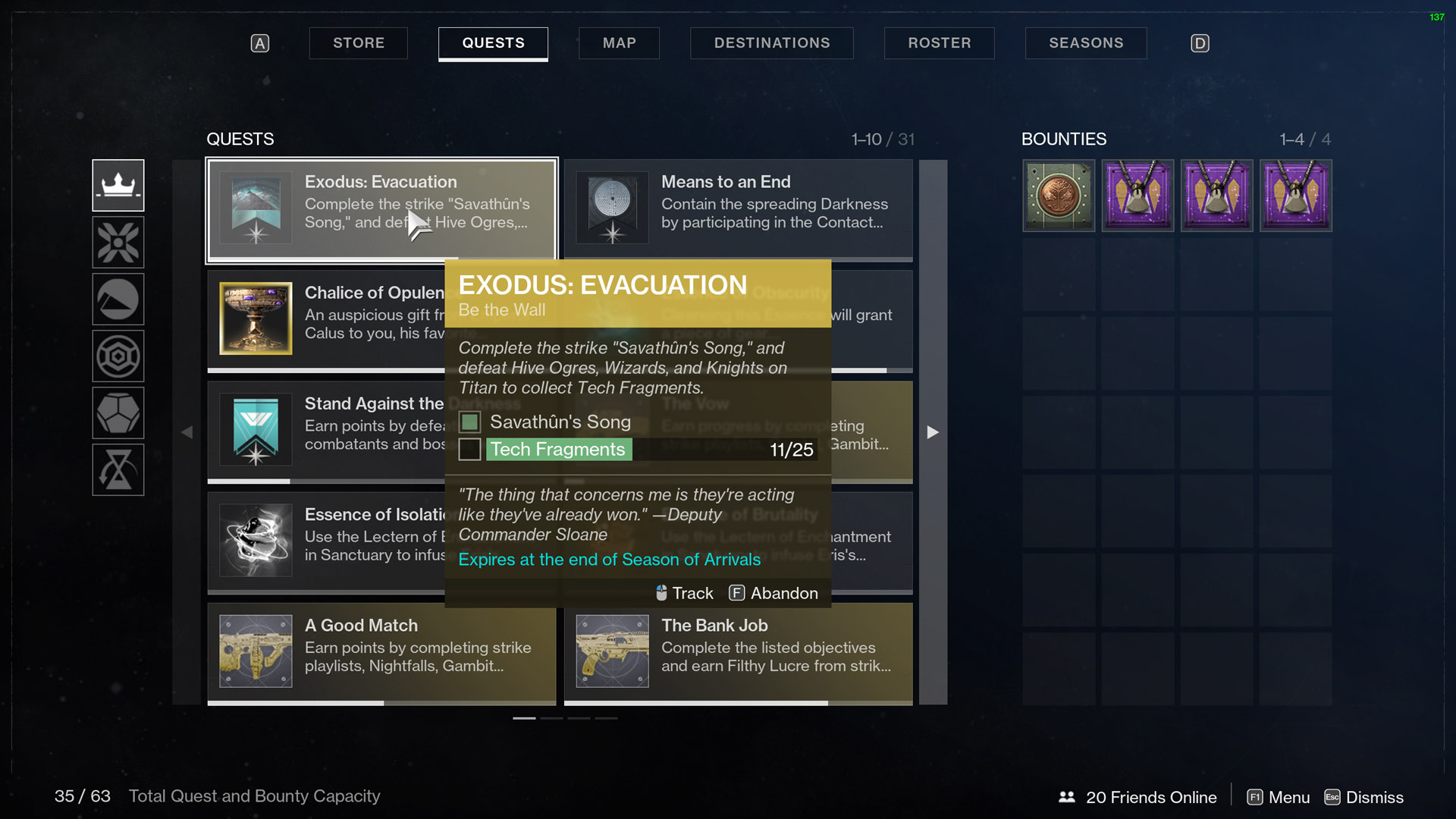 Destiny 2 Exodus Evacuation Be the Wall