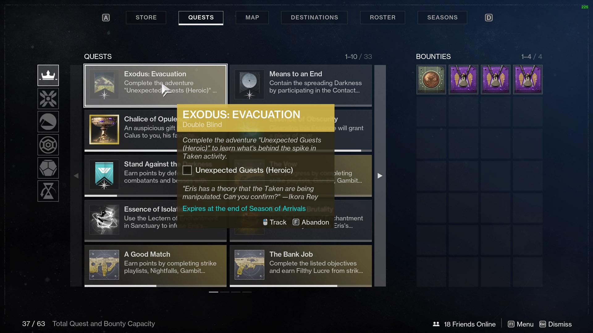 Destiny 2 Exodus Evacuation Double Blind