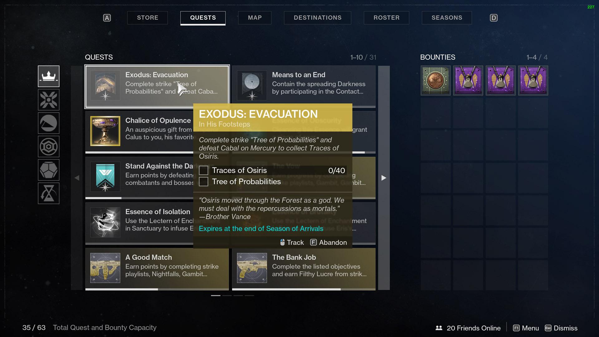 Destiny 2 Exodus Evacuation In His Footsteps