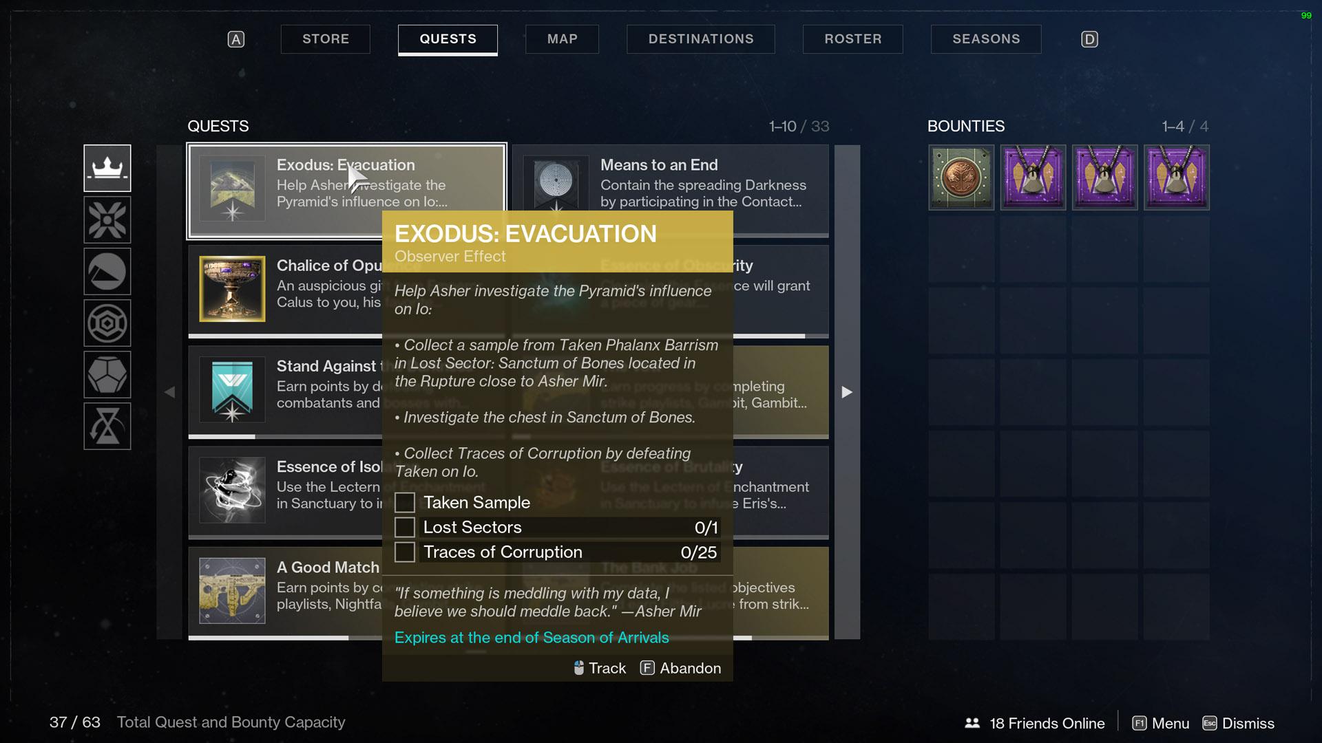 Destiny 2 Exodus Evacuation Observer Effect