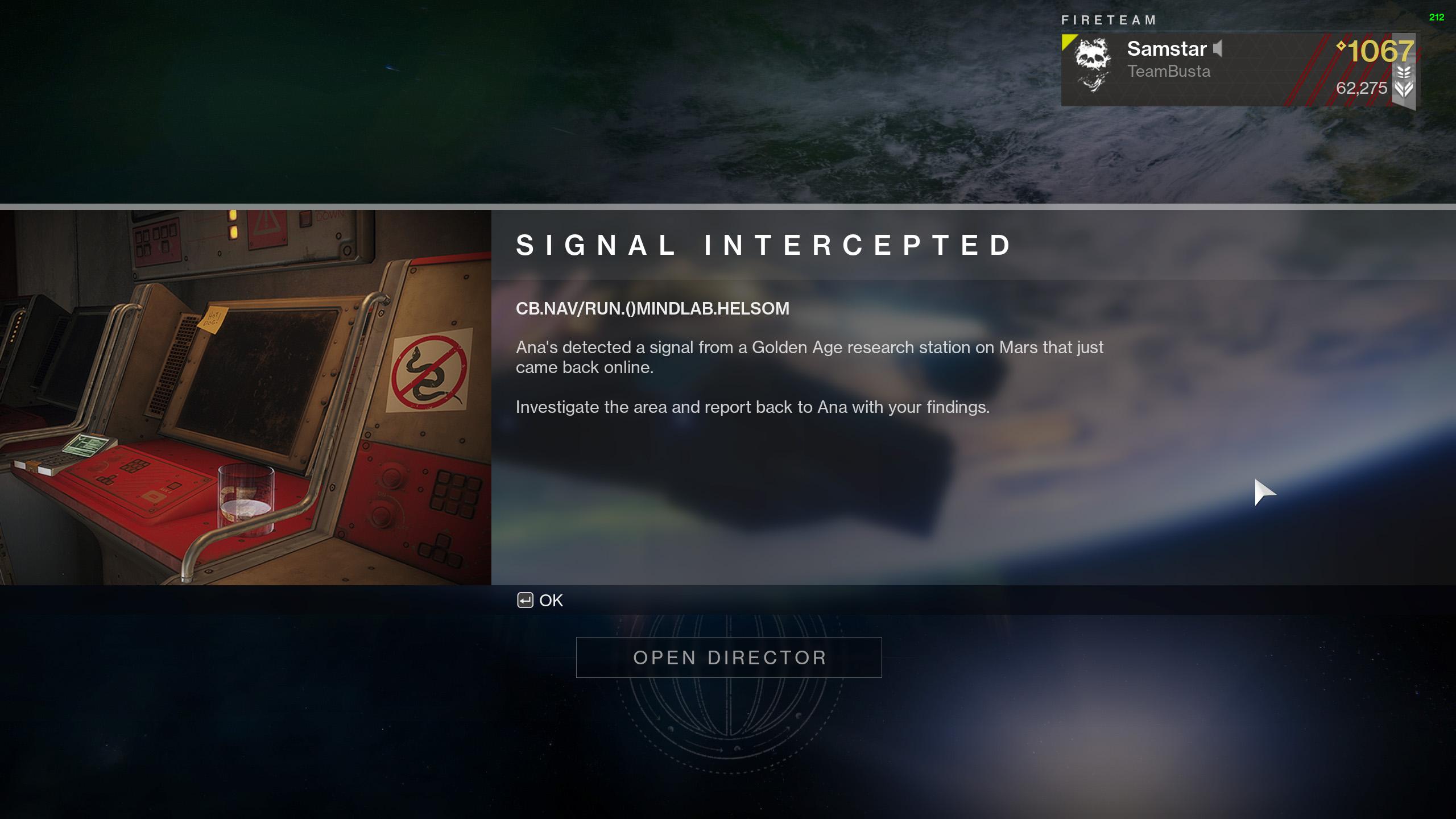 destiny 2 signal intercepted