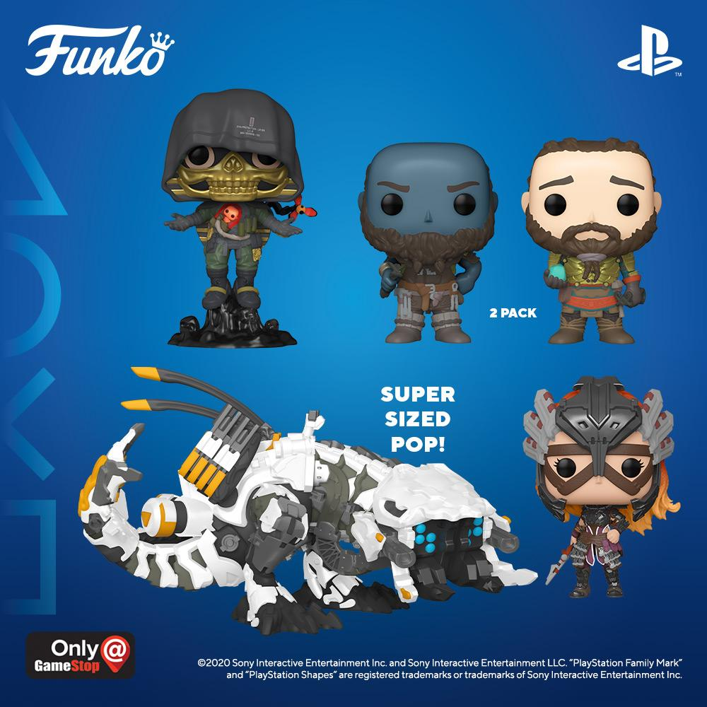 funko pop playstation characters